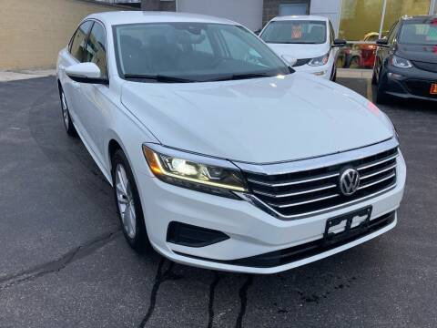 2020 Volkswagen Passat for sale at RABIDEAU'S AUTO MART in Green Bay WI