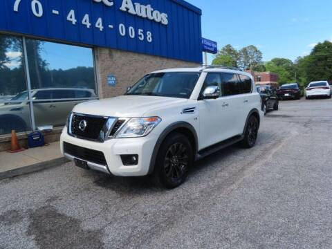 2018 Nissan Armada for sale at Southern Auto Solutions - 1st Choice Autos in Marietta GA