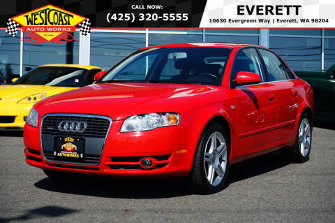 2007 Audi A4 for sale at West Coast Auto Works in Edmonds WA
