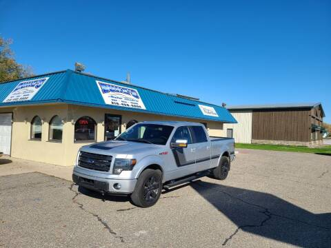 2014 Ford F-150 for sale at Dukes Auto Sales in Hawley MN