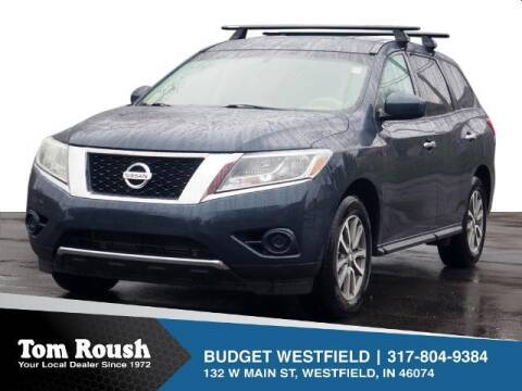 2014 Nissan Pathfinder for sale at Tom Roush Budget Westfield in Westfield IN