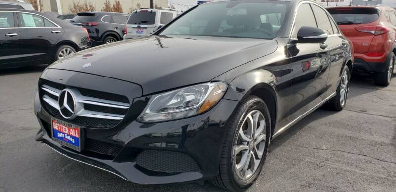 2015 Mercedes-Benz C-Class for sale at Better All Auto Sales in Yakima WA