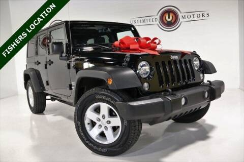 2017 Jeep Wrangler Unlimited for sale at Unlimited Motors in Fishers IN