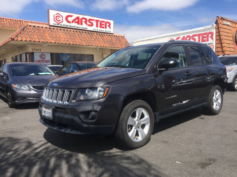 2016 Jeep Compass for sale at CARSTER in Huntington Beach CA
