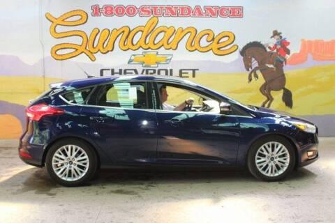 2017 Ford Focus for sale at Sundance Chevrolet in Grand Ledge MI