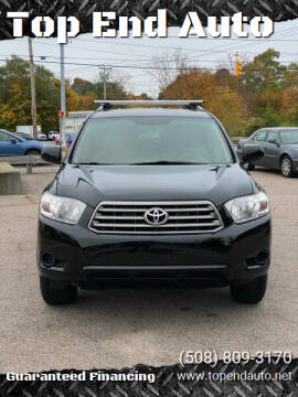 2010 Toyota Highlander for sale at Top End Auto in North Atteboro MA