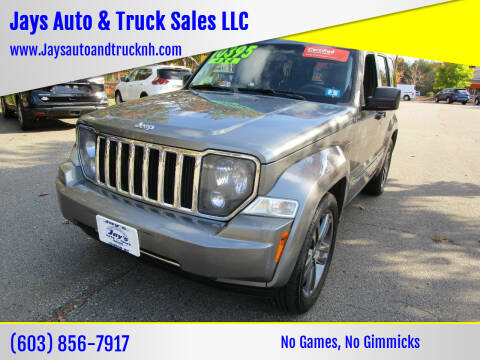 2012 Jeep Liberty for sale at Jays Auto & Truck Sales LLC in Loudon NH