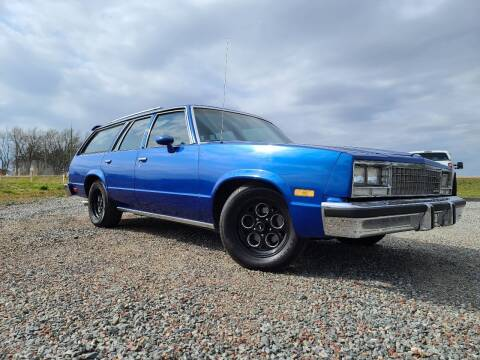 1983 Chevrolet Malibu for sale at Shinkles Auto Sales & Garage in Spencer WI