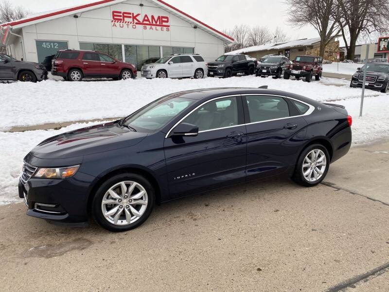 2018 Chevrolet Impala for sale at Efkamp Auto Sales LLC in Des Moines IA