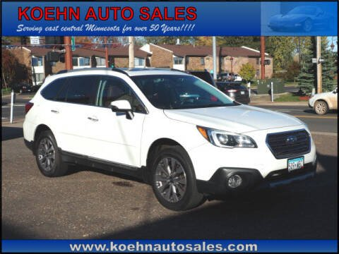 2017 Subaru Outback for sale at Koehn Auto Sales in Lindstrom MN