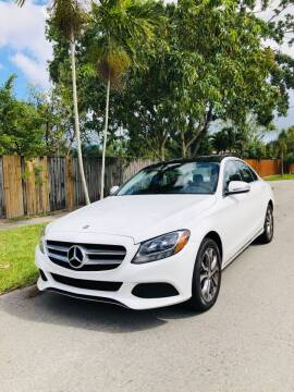 2016 Mercedes-Benz C-Class for sale at IRON CARS in Hollywood FL