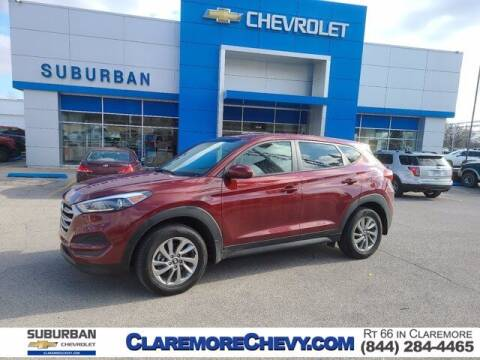 2018 Hyundai Tucson for sale at Suburban Chevrolet in Claremore OK