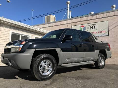 2002 Chevrolet Avalanche for sale at SQUARE ONE AUTO LLC in Murray UT