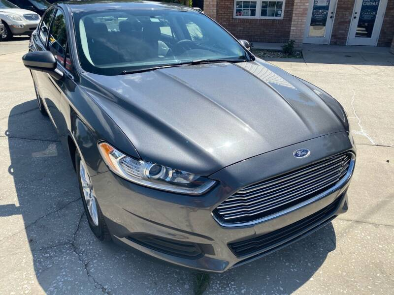 2015 Ford Fusion for sale at MITCHELL AUTO ACQUISITION INC. in Edgewater FL