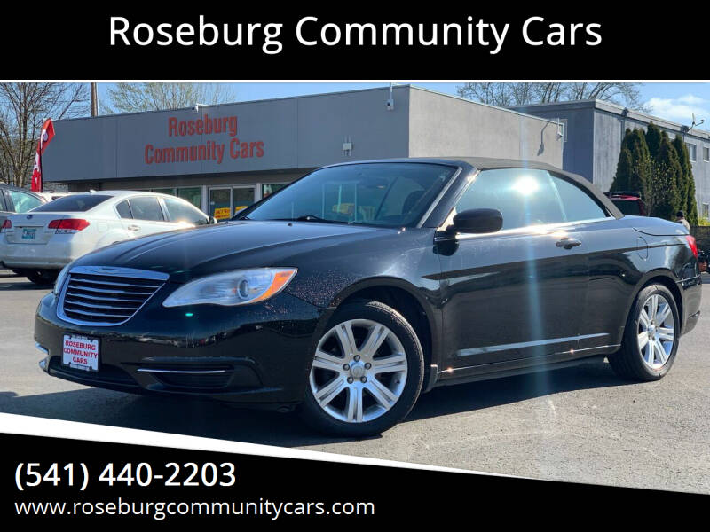2012 Chrysler 200 Convertible for sale at Roseburg Community Cars in Roseburg OR