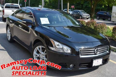 2014 Nissan Maxima for sale at Ramsey Corp. in West Milford NJ