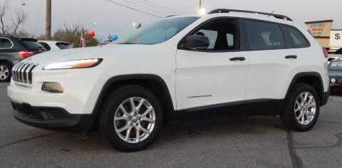 2016 Jeep Cherokee for sale at Iconic Motors of Oklahoma City, LLC in Oklahoma City OK