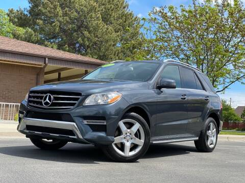 2015 Mercedes-Benz M-Class for sale at ALIC MOTORS in Boise ID