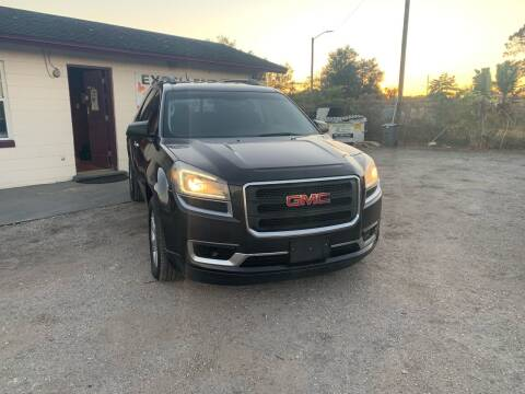 2013 GMC Acadia for sale at Excellent Autos of Orlando in Orlando FL