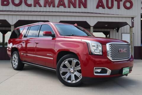 2015 GMC Yukon XL for sale at Bockmann Auto Sales in St. Paul NE