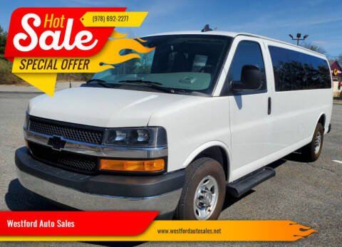 2019 Chevrolet Express Passenger for sale at Westford Auto Sales in Westford MA