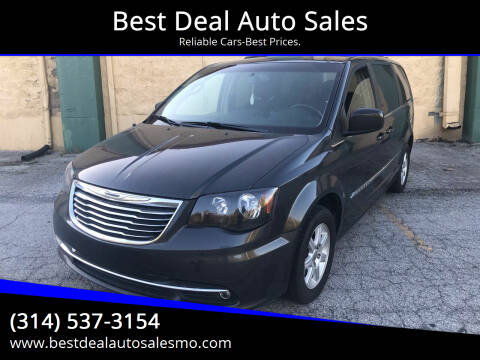 2011 Chrysler Town and Country for sale at Best Deal Auto Sales in Saint Charles MO