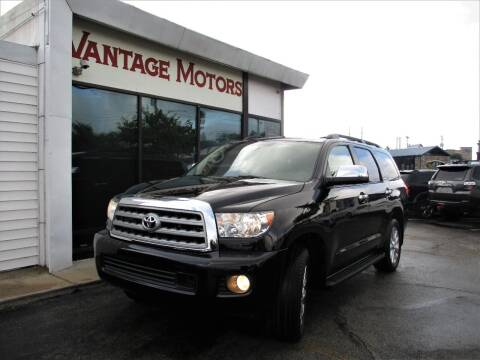 2012 Toyota Sequoia for sale at Vantage Motors LLC in Raytown MO