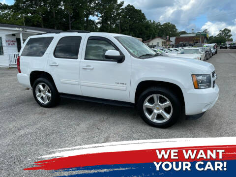 2011 Chevrolet Tahoe for sale at Rodgers Enterprises in North Charleston SC