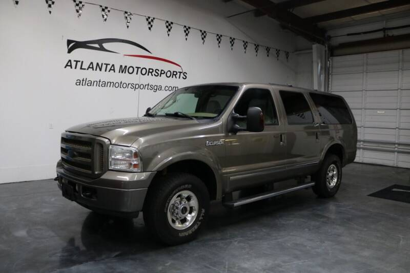 2005 Ford Excursion for sale at Atlanta Motorsports in Roswell GA