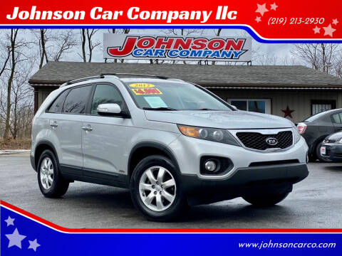 2012 Kia Sorento for sale at Johnson Car Company llc in Crown Point IN