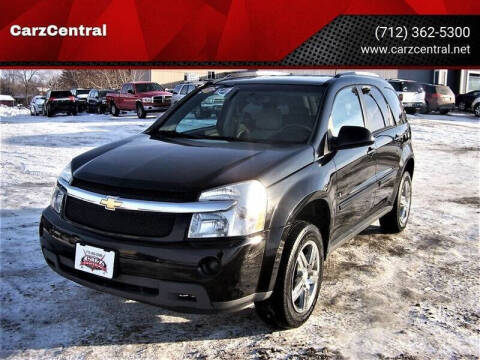 2007 Chevrolet Equinox for sale at CarzCentral in Estherville IA