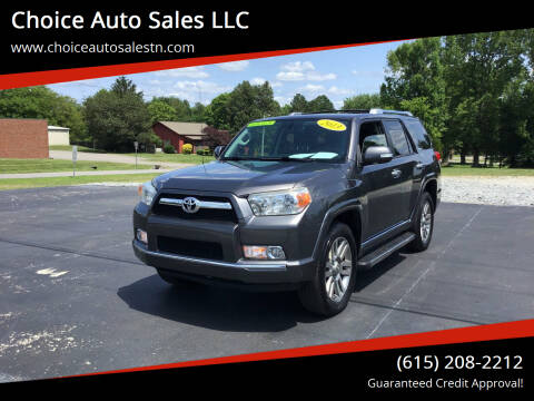 2013 Toyota 4Runner for sale at Choice Auto Sales LLC - Cash Inventory in White House TN