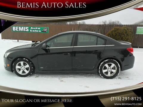 2012 Chevrolet Cruze for sale at Bemis Auto Sales in Crivitz WI