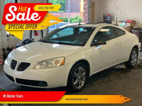 2008 Pontiac G6 for sale at JK Motor Cars in Pittsburgh PA