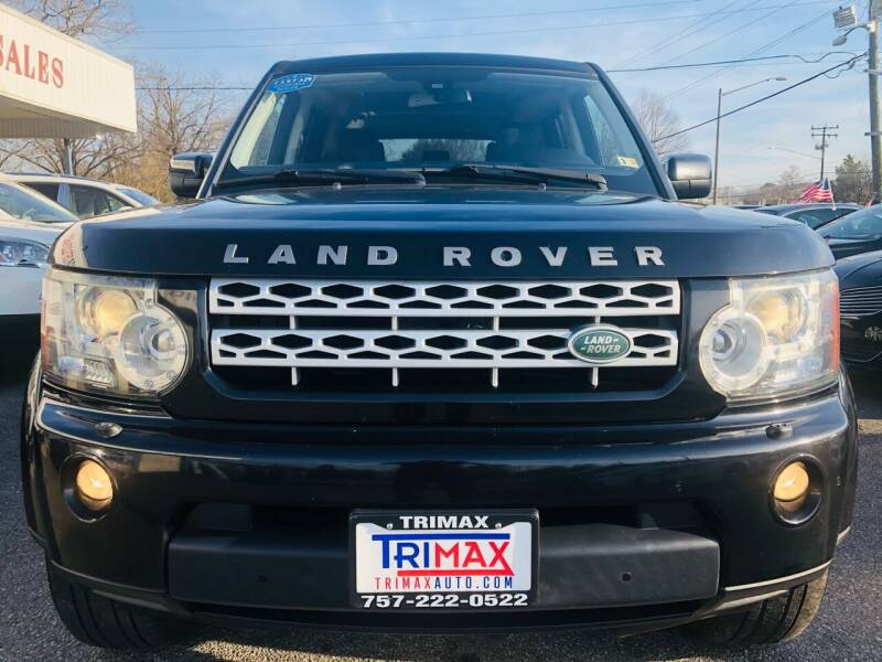 2012 Land Rover LR4 for sale at Trimax Auto Group in Norfolk VA