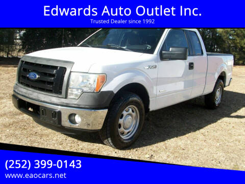 2012 Ford F-150 for sale at Edwards Auto Outlet Inc. in Wilson NC