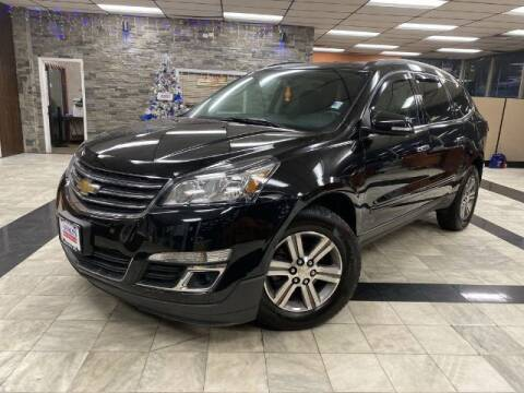 2016 Chevrolet Traverse for sale at Sonias Auto Sales in Worcester MA