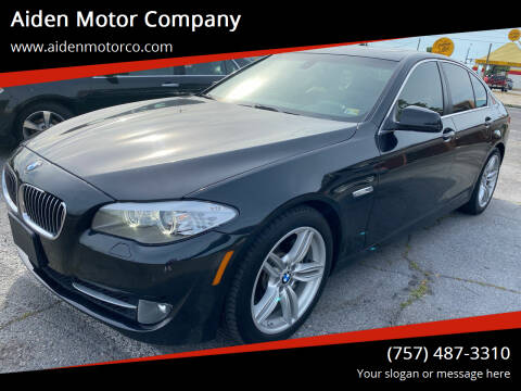 2011 BMW 5 Series for sale at Aiden Motor Company in Portsmouth VA
