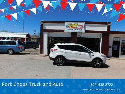 2013 Ford Escape for sale at Pork Chops Truck and Auto in Cheyenne WY