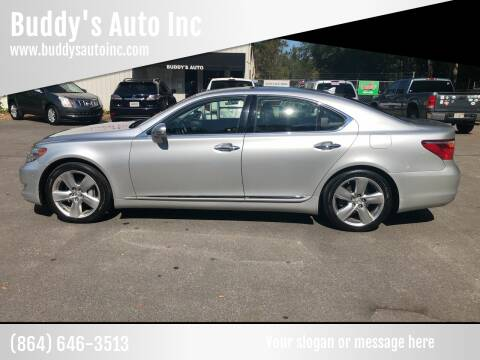 2011 Lexus LS 460 for sale at Buddy's Auto Inc in Pendleton SC