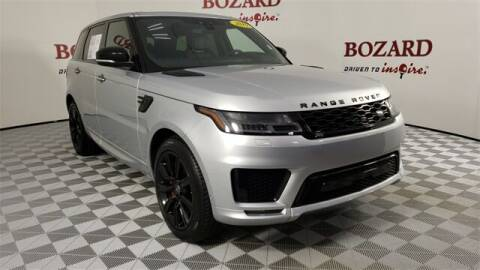 2019 Land Rover Range Rover Sport for sale at BOZARD FORD in Saint Augustine FL