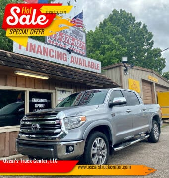 2017 Toyota Tundra for sale at Oscar's Truck Center, LLC in Houston TX
