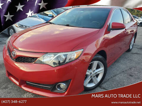 2014 Toyota Camry for sale at Mars auto trade llc in Kissimmee FL