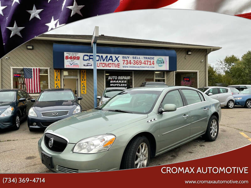 2007 Buick Lucerne for sale at Cromax Automotive in Ann Arbor MI