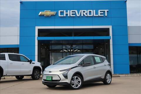 2022 Chevrolet Bolt EV for sale at Lipscomb Auto Center in Bowie TX
