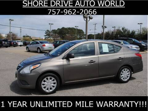 2015 Nissan Versa for sale at Shore Drive Auto World in Virginia Beach VA