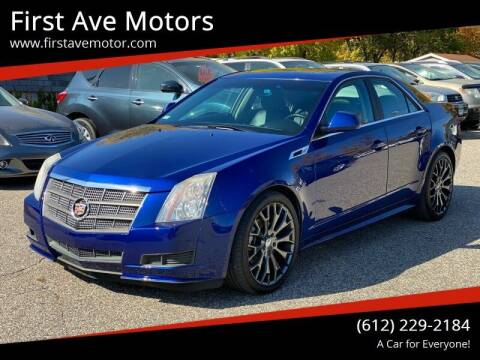 2012 Cadillac CTS for sale at First Ave Motors in Shakopee MN