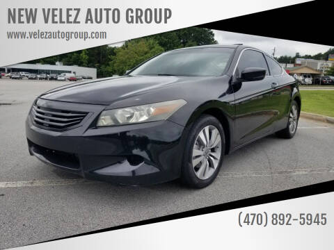 2009 Honda Accord for sale at NEW VELEZ AUTO GROUP in Gainesville GA