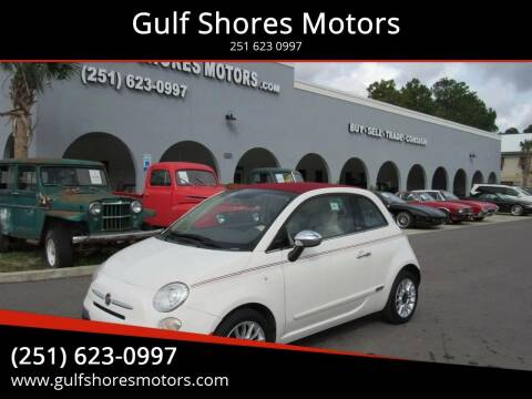 2013 FIAT 500c for sale at Gulf Shores Motors in Gulf Shores AL