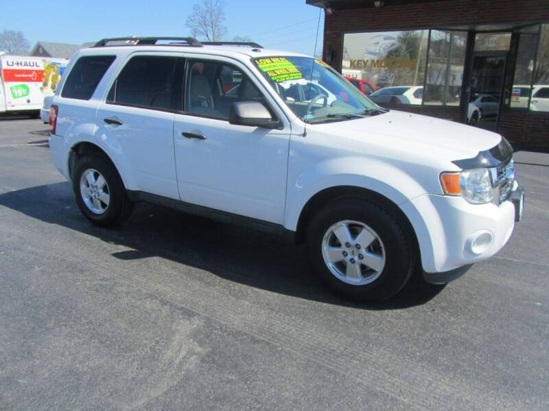 2012 Ford Escape for sale at Key Motors in Mechanicville NY